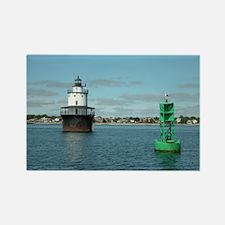 Butler Flats Lighthouse Rectangle Magnet