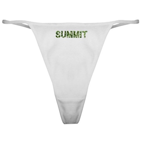 Summit, Vintage Camo, Classic Thong