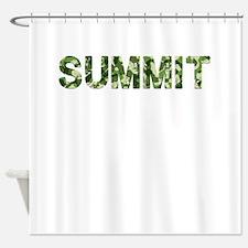 Summit, Vintage Camo, Shower Curtain