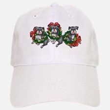 Schnazuers in Wreaths Baseball Baseball Cap