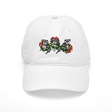 Schnazuers in Wreaths Baseball Cap