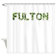 Fulton, Vintage Camo, Shower Curtain