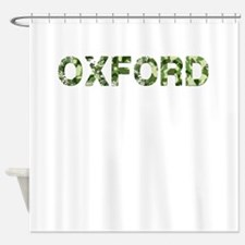 Oxford, Vintage Camo, Shower Curtain