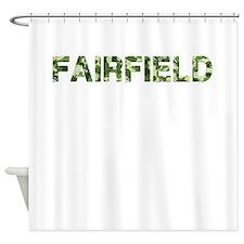 Fairfield, Vintage Camo, Shower Curtain