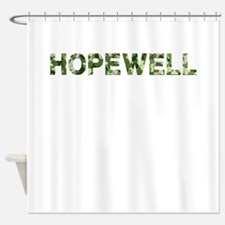 Hopewell, Vintage Camo, Shower Curtain