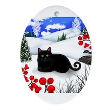 Cute Berry cute Ornament (Oval)