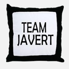 Team Javert Throw Pillow