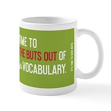 Funny My vocabulary Mug