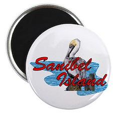 Sanibel Pelican Magnet