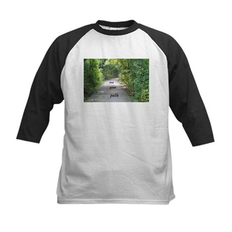 find your path Kids Baseball Jersey