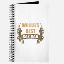 World's Best Gay Dad (Wings) Journal
