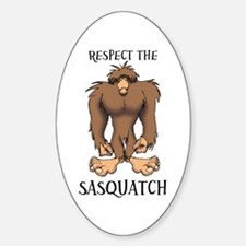 RESPECT THE SASQUATCH Decal