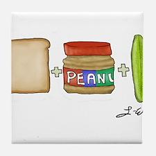 Lizzie's Sandwich Tile Coaster