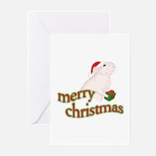 merrychristmasrat Greeting Cards