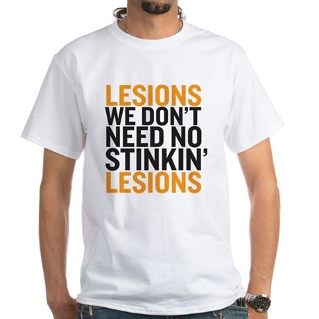 Lesions-White T-Shirt
