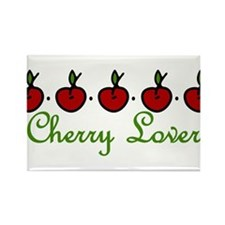 Cherry Lover Rectangle Magnet