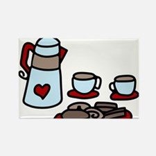 Coffee Talk Rectangle Magnet