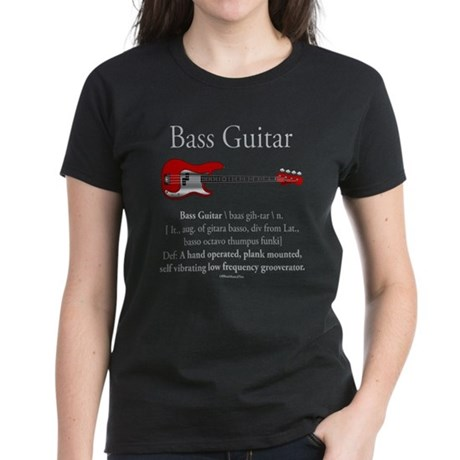 Bass Guitar LFG Women's Dark T-Shirt
