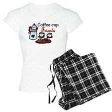 Coffee Cup Friends Pajamas