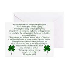 We Are the Irish Greeting Cards (Pk of 10)