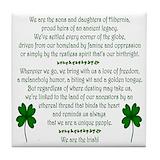 Irish gaelic coasters Drink Coasters