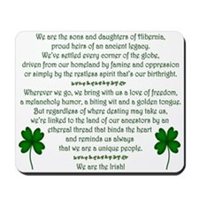We Are the Irish Mousepad