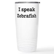 Funny Zebrafish Travel Mug
