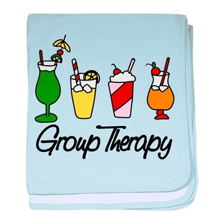 Group Therapy baby blanket