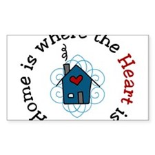 The Heart Is Decal