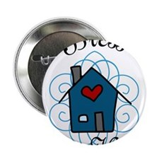 """Bless This Home 2.25"""" Button"""