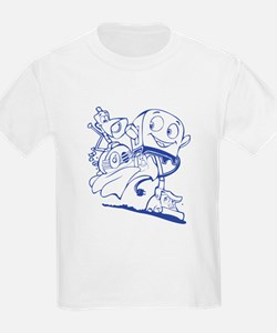 The Brave Little Toaster (Blue) T-Shirt