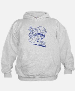 The Brave Little Toaster (Blue) Hoodie