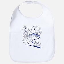 The Brave Little Toaster (Blue) Bib