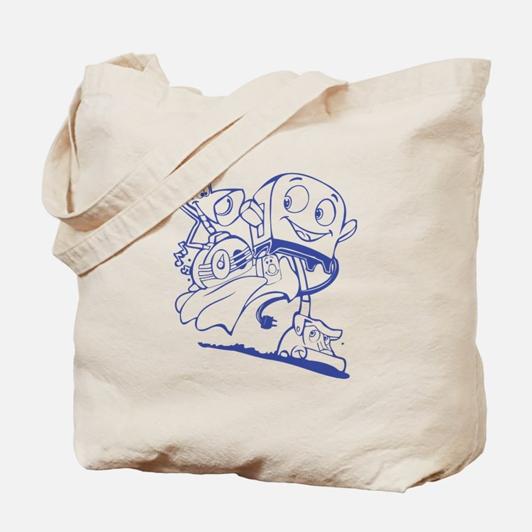 The Brave Little Toaster (Blue) Tote Bag