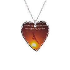 Unique Isaiah Necklace Heart Charm