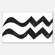 Aquarius Symbol Decal