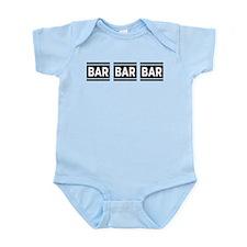 BAR BAR BAR Infant Bodysuit