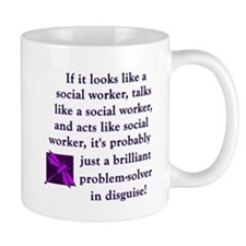 3-brilliant problem solver Mugs