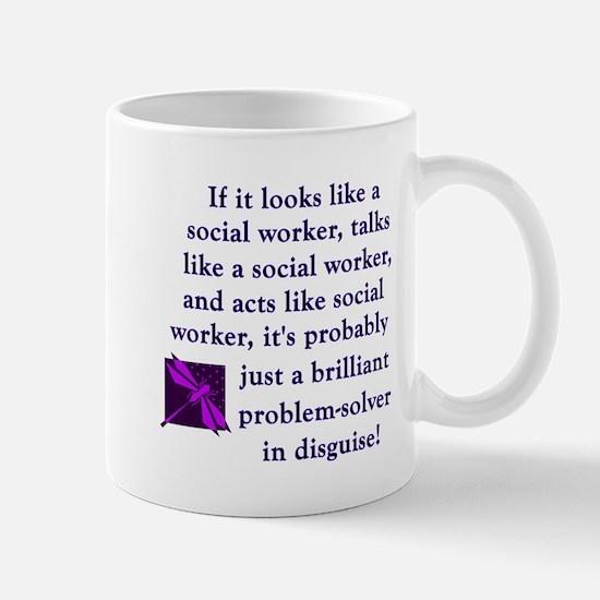 3-brilliant problem solver Mugs