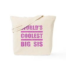 World's Coolest Big Sis Tote Bag