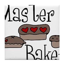 Master Baker Tile Coaster