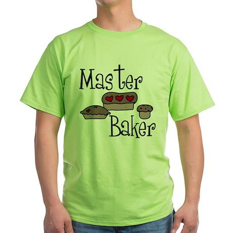 Master Baker Green T-Shirt