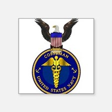 Navy Corpsman Rectangle Sticker