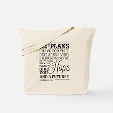 Hope and a Future Tote Bag