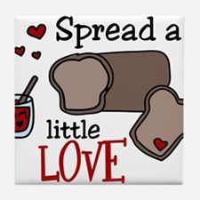 Spread Love Tile Coaster