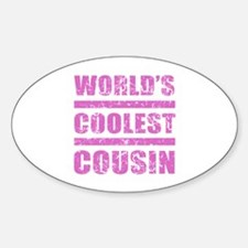 World's Coolest Cousin Decal