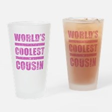 World's Coolest Cousin Drinking Glass