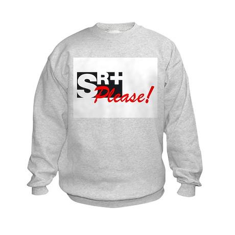 SR+ please copy.png Kids Sweatshirt