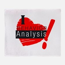 Cute Analysis Throw Blanket