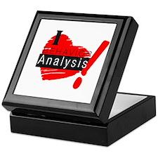 Cute Analysis Keepsake Box
